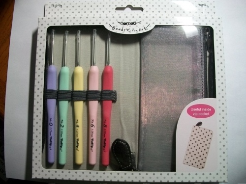 Sucre Bead-Crochet Hook Set