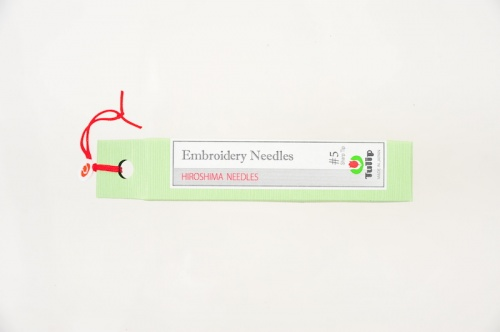 Embroidery Needles, Sharp Tip #5