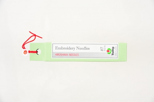 Embroidery Needles, Sharp Tip #7