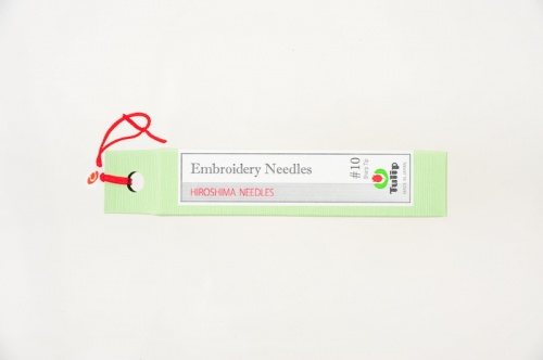 Embroidery Needles, Sharp Tip #10