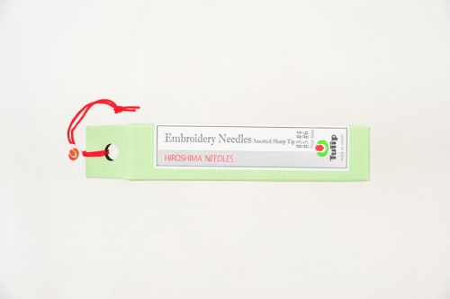 Embroidery Needles, Sharp Tip Assortment