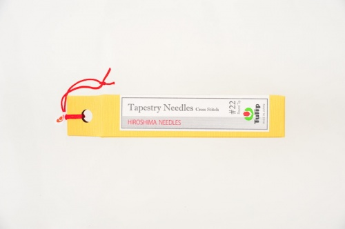 Tapestry Needles / Cross Stitch Round Tip # 22