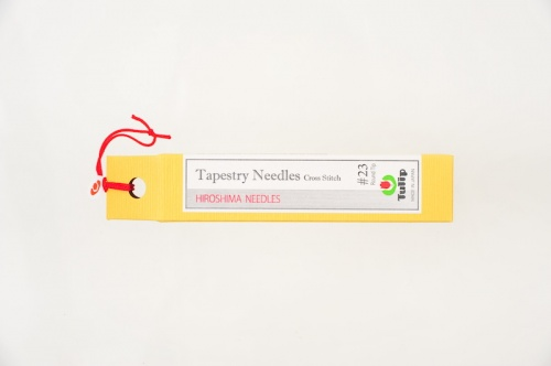 Tapestry Needles / Cross Stitch Round Tip # 23