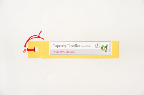 Tapestry Needles / Cross Stitch Round Tip # 24